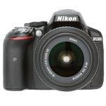 Nikon D5300 (with AF-S 18-55 mm VR Lens) 24.1 MP DSLR Camera (Grey) + FREE Nikon DSLR Bag + 8GB Memory Card @34650    see pc