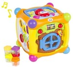 flipkart :: Best Choice Products Talking Activity Cube Box Play Center with Lights(Multicolor) @3027 (53% off)