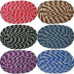 Flat 77% off, Handloom wala Cotton Weaved Door Mats -Multicolour (Pack Of 6) for Rs. 139 - Shopclues.com