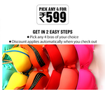 Clovia : Pick any 4 for Rs.599