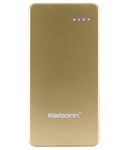 Karbonn KP8000 8000 mAh Power Bank - Golden @ 599 +30