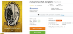 [71% Off] Mohammed Rafi (English)(Paperback) Rs 100 [mrp 350] @Flipkart