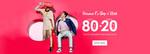 Jabong : Upto 80% Off + Extra 20% Off [No Min. Purchase] + 10% cashback