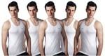 Lux Venus Men's Vest (5 pack) for ₹308 + Free Shipping