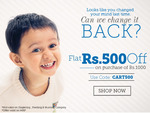 Babyoye || Flat Rs.500 off on the purchase of Rs.1000