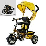 FLAT 70% OFF on Toys Bhoomi 4in1 Folding Stroller with Umbrella Canopy Tricycle@9488 MRP 29999