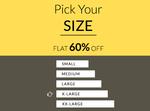 Mega Clearance Sale – Flat 60% off on Americanswan Clothing & Footwear