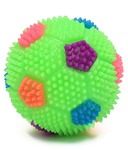 Smiles Creation Multi colour Soft & Squeezy Bouncing Ball with Flashing Lights Toy @ 54 +30 mrp 399
