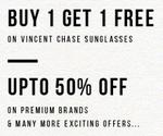 ||Celebrating SUNGLASS Day|| Buy 1 Get 1 FREE & Upto 50% OFF on Premium brands @Lenskart