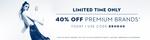 40% OFF on premium brands @Koovs