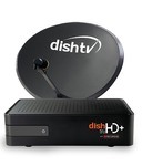 Dish TV HD+  Connection + 1 month Titanium & Full On HD Pack + Free Installation + Express service