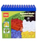 Planet of Toys Alphabet Building Blocks - 70 Pcs