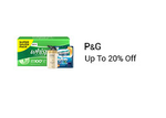Get Upto 20% off on P&G products