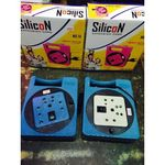 Silicon (MS 51) Square Shape Extension Cord with Handle