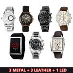 Set of 7 watches