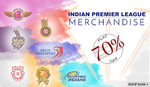 Flat 70% off on IPL Merchandise (starting at Rs.30)
