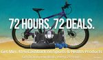 72 hours 72 deals | Minimum 41% cashback on sports and health products