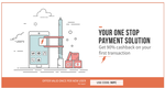 Get 90% cashback (Max. Rs.65) on your first transaction on Freecharge