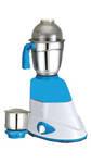 Quba MG96 500 W Mixer Grinder (White & Blue/2 Jar)