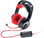 Genius HS-G850 GX-Gaming Zabius Gaming Headset for Xbox 360, PlayStation 3/4, PC/Mac (Black/Red)