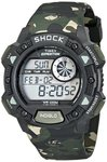 Timex Shock Digital Grey Dial Men's Watch - T49976