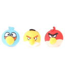Angry Bird Licenced Soft Toy with Multipurpose Detachable Key Chain