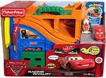 Fisher-Price Disney Cars Racing Rivalry Track Playset(Orange)