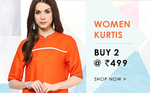 Flat 60% off : Buy Any 2 @ Rs.499