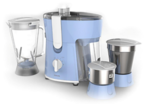 Philips HL7576/00 600 W Juicer Mixer Grinder (Blue & White) 3 Jars