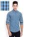 Mufti blue slim fit shirt sdl605780674 1 ee2cc
