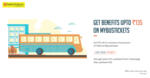 15% Cashback when you pay with Freecharge at MyBusTickets + Extra Rs 75 off on Rs 500 & above (Once Per User)