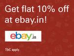 ICICI Bank - eBay 10% Discount Offer