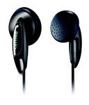 Philips SHE1360/97 Earphones without Mic (Black)