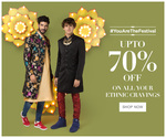 Upto 70% Off on All your Ethentic Cravings