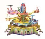 Saffire Rotating Aircraft 3D DIY Paper Jigsaw Puzzle With Light and Music