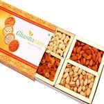 Ghasitaram's Orange Dry Fruits Box 200 gms