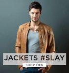 Up to 50% Off on Mens Leather Jackets (Puma, UCB, Duke, Pantaloons & more)