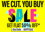 Flat 50% off on Bata Footwear