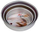 Rolex Aluminium Cake Mould Round Set Of 3