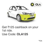 100% cashback on Ola riders (Mumbai New Users)