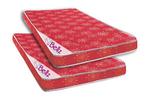 Bellz Red Poly Cotton Foam Mattresses - Buy 1 Get 1 Free