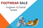 Min 60% Off on Casual Shoes   Sunglasses: Min. 40% off on Sunglasses