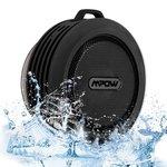Mpow Buckler Bluetooth Wireless Waterproof Shower Speaker with Mic, Hands-free Calling Function for Shower, Outdoor Activities