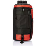 Gear 24 ltr Black and Rust Casual Duffel-Backpack (DUFNEWMXS0116)