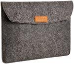 AmazonBasics 13-inch Felt Laptop Sleeve (Charcoal) discount offer