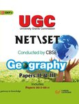 UGC NET/SET Geography Paper II & III (Includes 2013-2014)