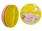 Carrolite Multicolour Plastic Round Dinner Plate - Set of 10