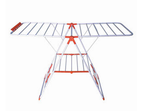 Bathla Steel Orange And White Cloth Drying Stand