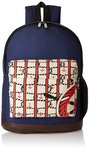 Kanvas Katha Canvas Navy Blue Casual Backpack (KKBPN003NB)