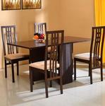 @home by Nilkamal Beige GYPSY Dining Set